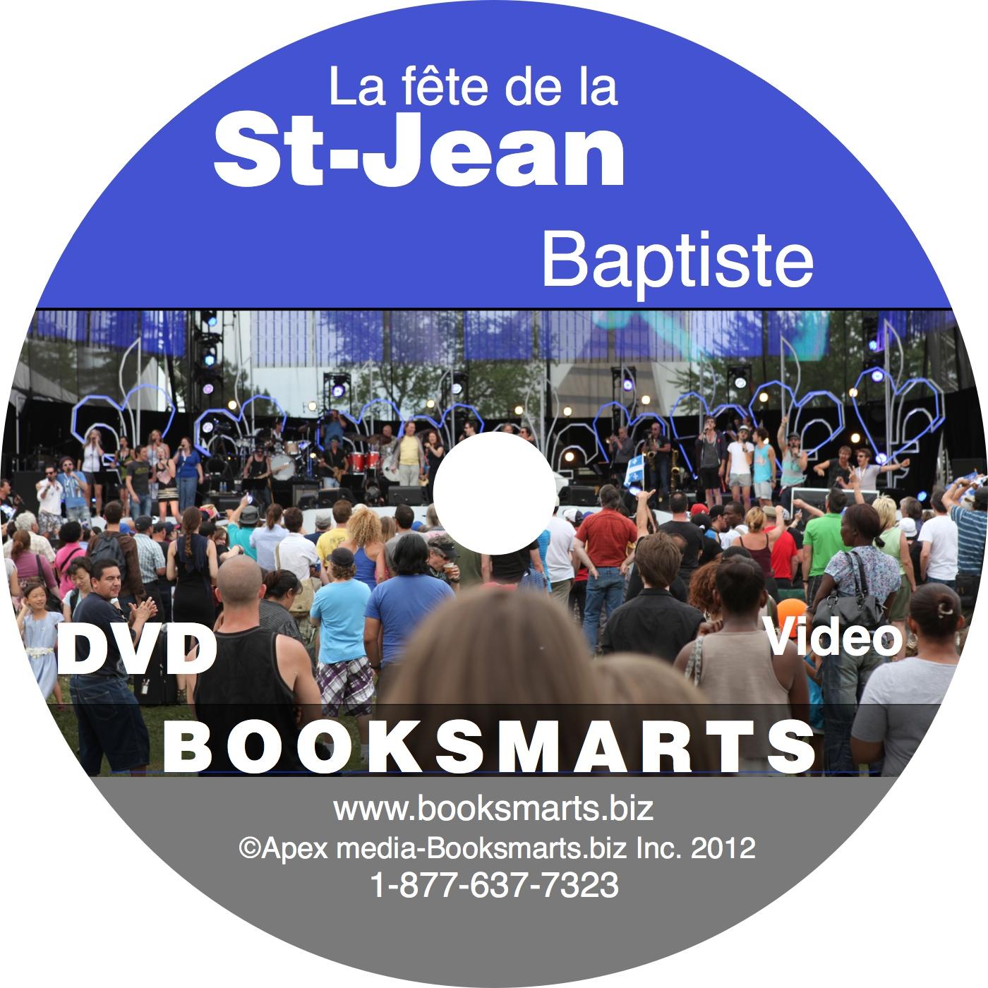 DVD La St-Jean-Baptiste