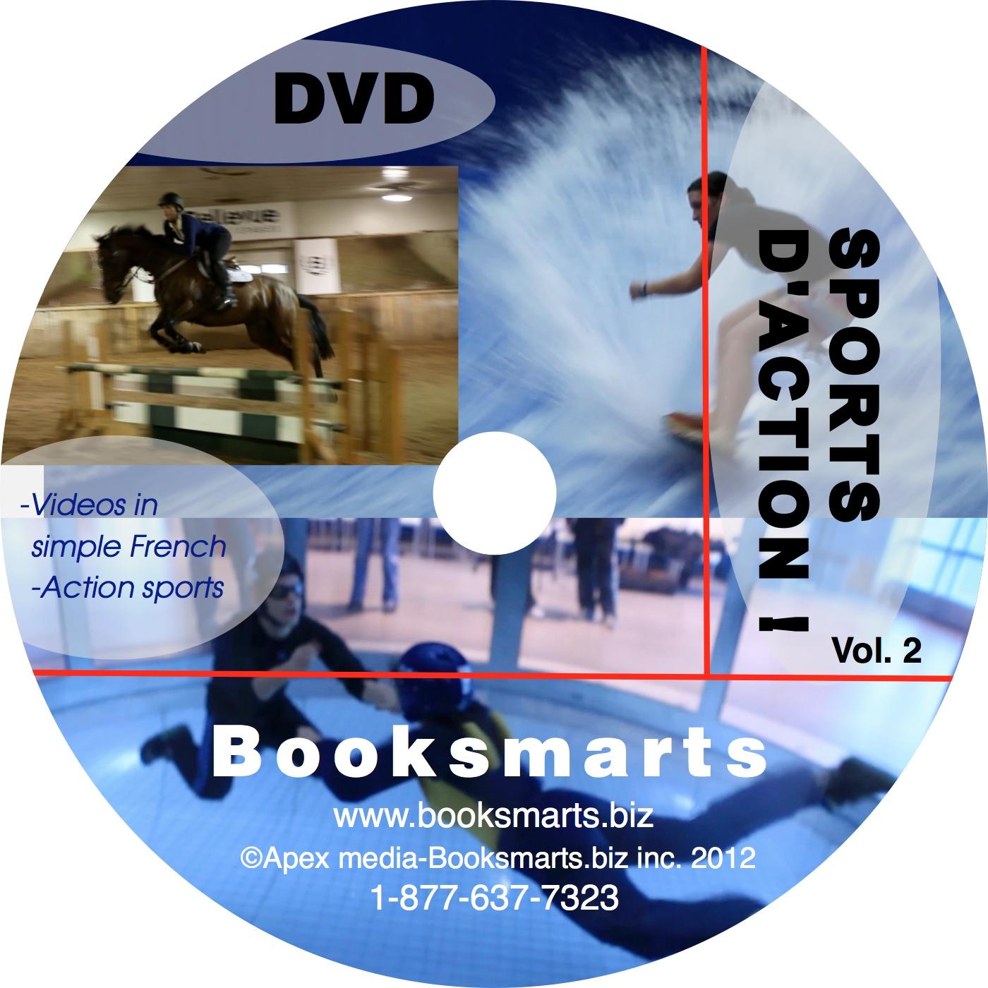 DVD Les sports !