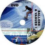 BALLONS ET VAGUES DVD LABEL