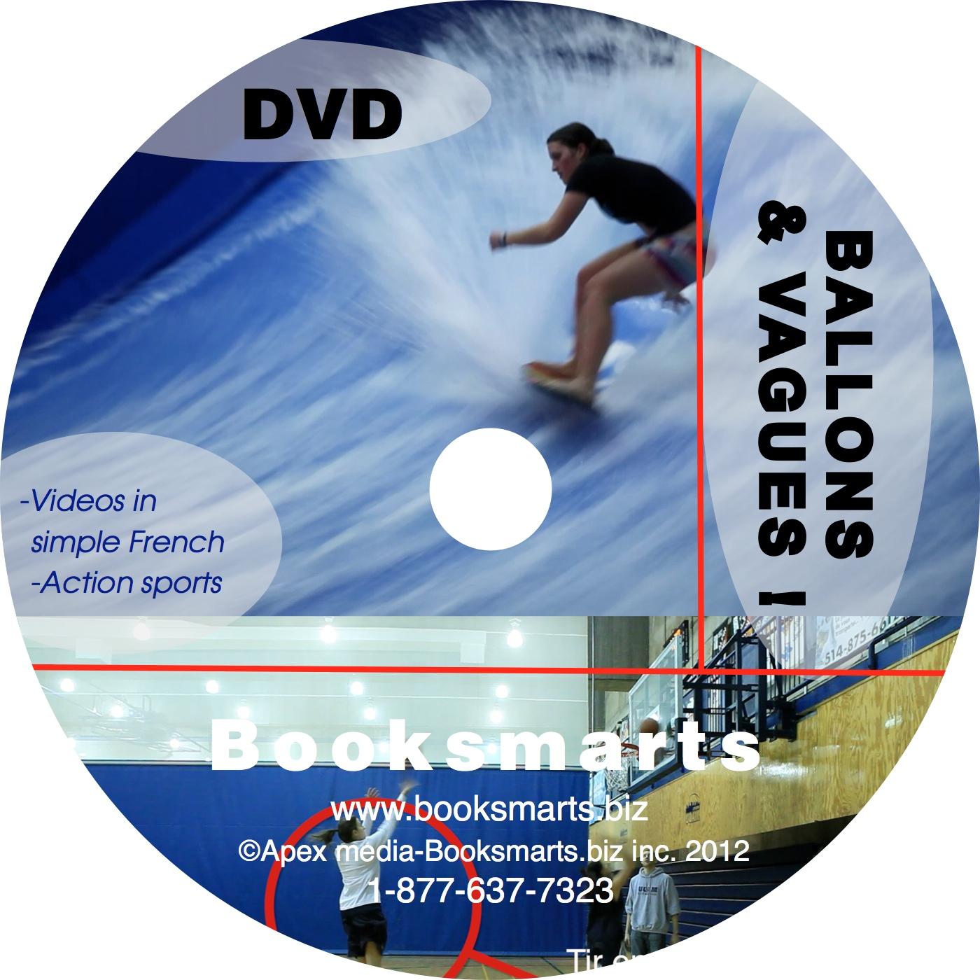 DVD Ballons et vagues (sports)
