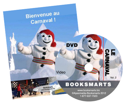 Cultural kits: DVDs + Books in simple French