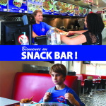 Bienvenue Au Snack Bar mockup
