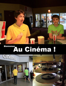 Bienvenue au cinema cover