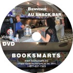 BIENVENUE AU SNACK BAR DVD LABEL